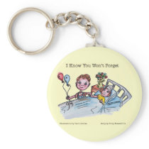 I Know You Won't Forget Keychain