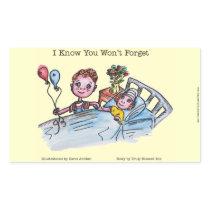 I Know You Won't Forget Sticker