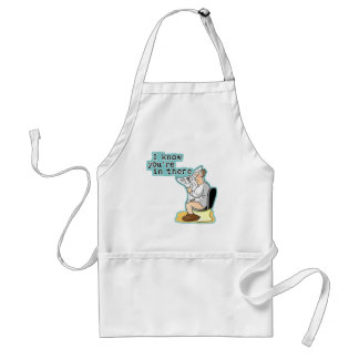 I Know You're In There! Adult Apron