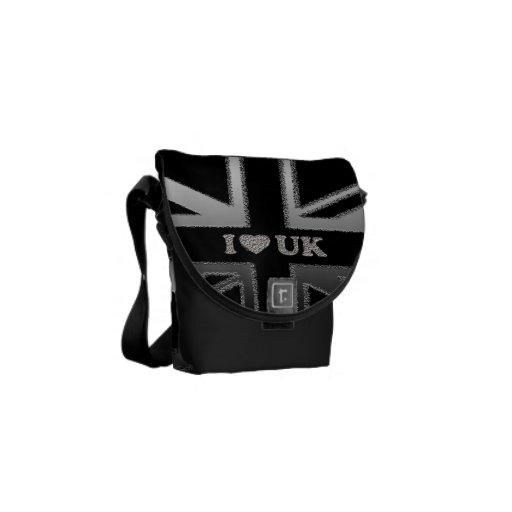 I la bolsa de mensajero BRITÁNICA de Union Jack de Bolsa De Mensajería