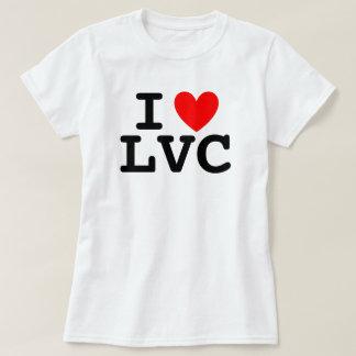 I la camiseta de las mujeres del corazón LVC - Camisas