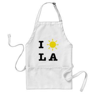 I LA de Sun Delantal