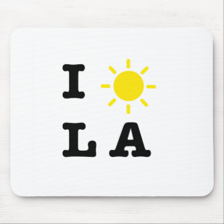I LA de Sun Mousepad