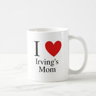 I la mamá de Irving del corazón Taza Clásica