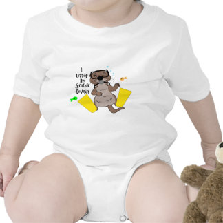 I la nutria sea buceo con escafandra traje de bebé