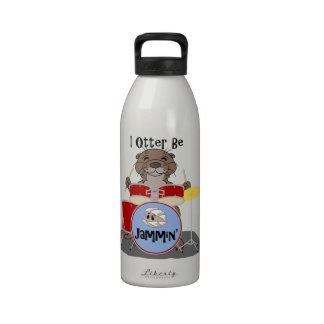 I la nutria sea Jammin Botellas De Agua Reutilizables