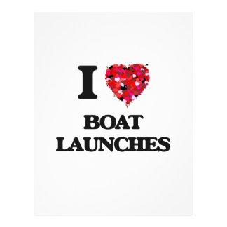 """I lanzamientos del barco del amor folleto 8.5"""" x 11"""""""
