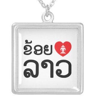 I Lao del corazón (amor) (Lao de Khoy Huk) Collares Personalizados