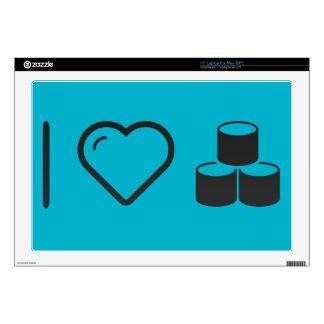 I las bases de datos del corazón compilan 43,2cm portátil calcomanía