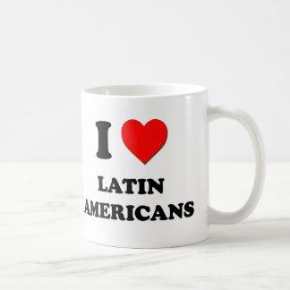 I latinoamericanos del corazón tazas