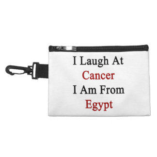 I Laugh At Cancer I Am From Egypt Accessories Bag