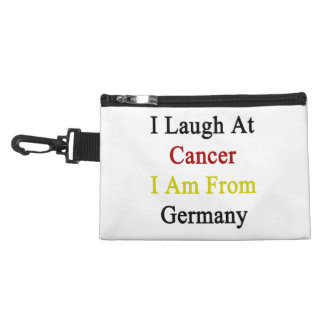 I Laugh At Cancer I Am From Germany Accessory Bag
