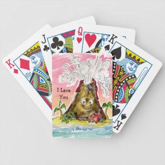 I lava usted cartas de juego