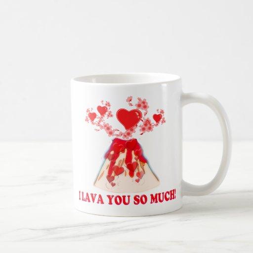 I Lava You Classic White Coffee Mug