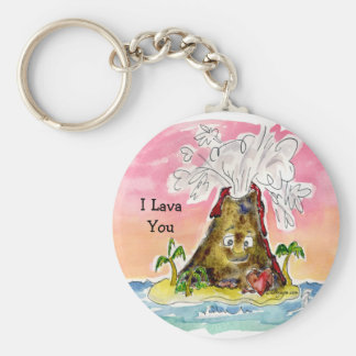 I Lava You Keychain
