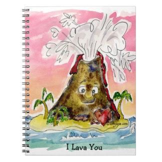 I Lava You Notebook