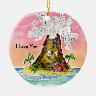I Lava You Ornaments