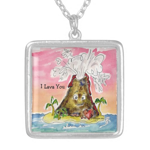 I Lava You Personalized Necklace