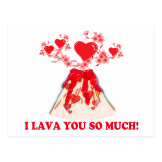 I Lava You Postcard