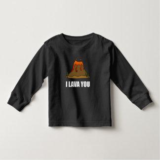 I Lava You Volcano Toddler T-shirt