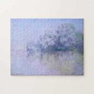 Île aux Orties near Vernon Monet Fine Art Jigsaw Puzzle