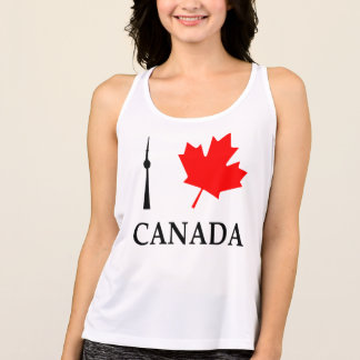 I Leaf (Love) Canada - All Sport Tank Top