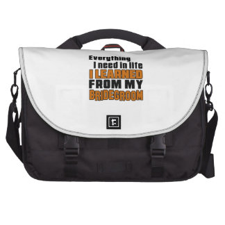 I Learned From Bridegroom Laptop Bags
