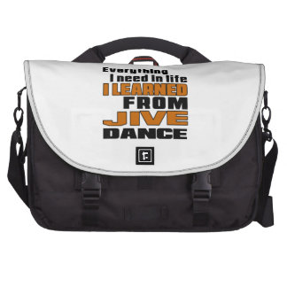 I Learned From Jive Laptop Bags