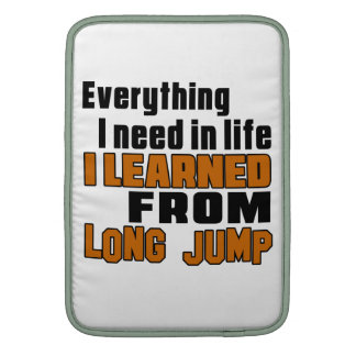 I learned From Long Jump Sleeve For MacBook Air