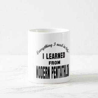I Learned From Modern Pentathlon. Mugs