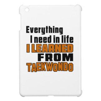 I learned From Taekwondo Case For The iPad Mini
