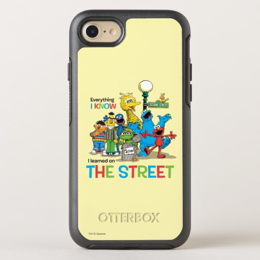 I learned on THE STREET OtterBox Symmetry iPhone SE/8/7 Case