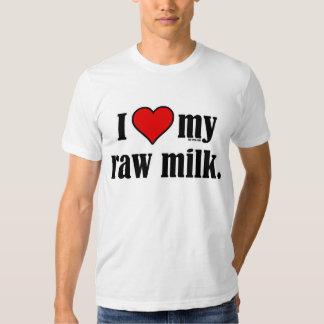 I leche cruda del corazón remera
