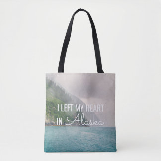 I Left My Heart -Alaska Landscape | Tote Bag