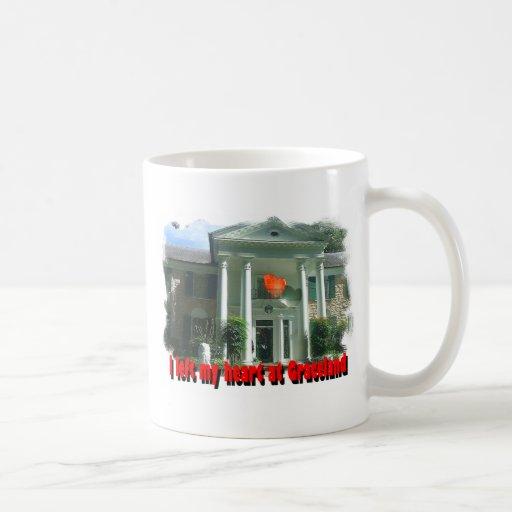 I Left My Heart At Graceland Coffee Mug