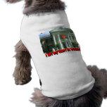 I Left My Heart At Graceland Pet Tee Shirt