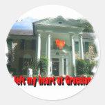 I Left My Heart At Graceland Sticker