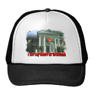 I Left My Heart At Graceland Trucker Hat