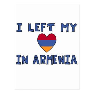 I Left My Heart in Armenia Postcards