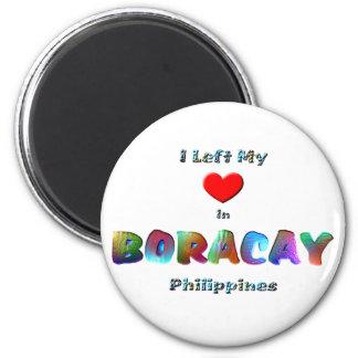 I Left My Heart In Boracay Magnet