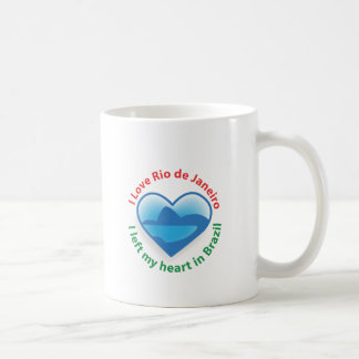 I Left My Heart in Brazil - I Love Rio de Janeiro Mug
