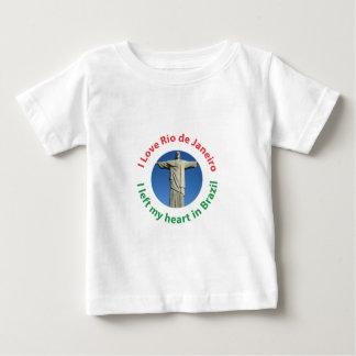 I Left My Heart in Brazil - I Love Rio de Janeiro T-shirt