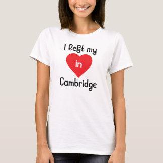 """I left my heart in Cambridge T-Shirt"