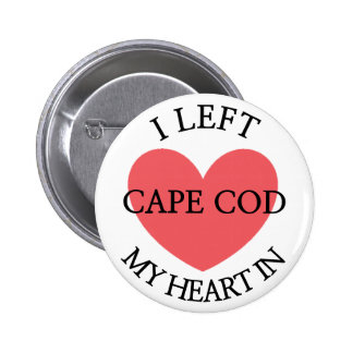 I Left my Heart in Cape Cod Button