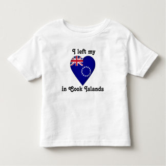 I left my heart in Cook Islands Toddler T-shirt