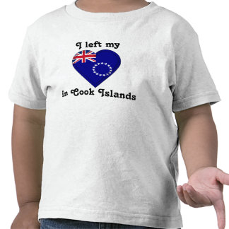 I left my heart in Cook Islands T-shirt