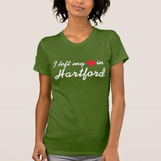 I left my heart in Hartford T-shirt