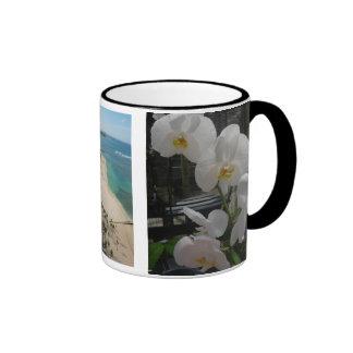 I Left My Heart in Hawaii Ringer Mug