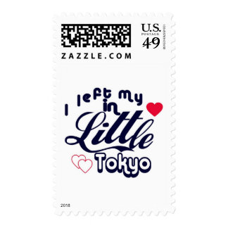 I left my heart in Little Tokyo Stamp