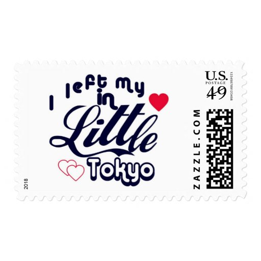 I left my heart in Little Tokyo Stamps
